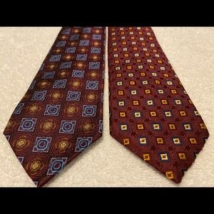 Brand New SUPER Stylish Corporate Ties JOS A BANK